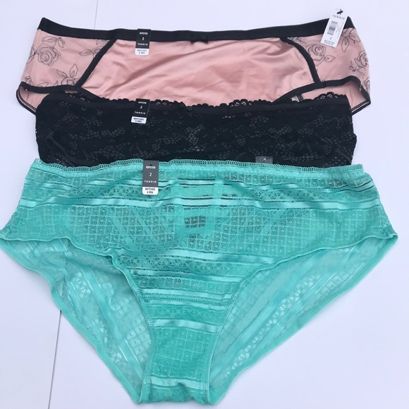 cddeb21505ae torrid Intimates & Sleepwear | Hipster Sz 2 Undies Set Of 3 | Poshmark